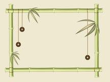 Frame van bamboe Stock Afbeeldingen