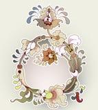 Frame van bizarre bloemen, eps10 Royalty-vrije Illustratie