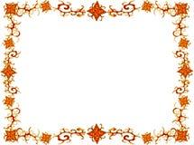Frame van bloemen royalty-vrije illustratie