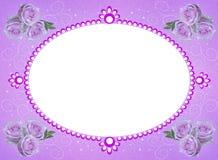 Frame van bloemen extra dossier PNG stock afbeelding