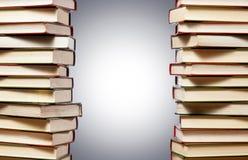 Frame van boeken Stock Foto's