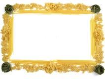 Frame van deegwaren Royalty-vrije Stock Afbeeldingen