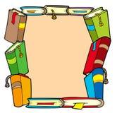 Frame van diverse boeken Royalty-vrije Stock Afbeelding
