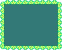 Frame van Greens en Bladeren vector illustratie