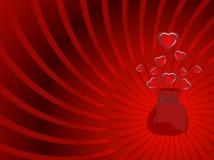Frame van harten Royalty-vrije Stock Fotografie