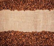 Frame van koffiebonen Royalty-vrije Stock Fotografie