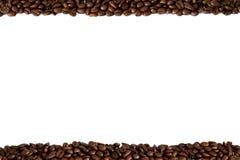 Frame van koffiebonen Royalty-vrije Stock Afbeelding