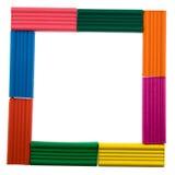 Frame van plasticine. Royalty-vrije Stock Afbeeldingen