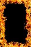Frame van Vlammen stock illustratie