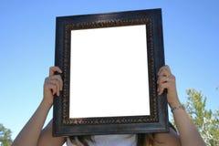 Frame vazio fotografia de stock
