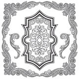 Frame vector. Vector illustration of frame and design elements Stock Photos