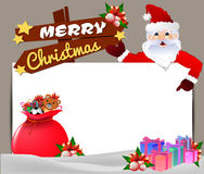 Frame Vector Christmas Party design template. Vector illustration. Vector Christmas Party design template. Vector illustration, Merry Christmas! Happy Christmas Stock Photos