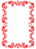 Frame vector floral ornament Royalty Free Stock Images