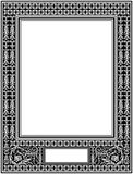 Frame. Vector historical frame in the style of ornaments of the 19th century royalty free illustration