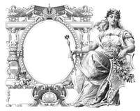 Frame velho Imagens de Stock Royalty Free
