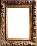 Frame velho de Baget fotografia de stock