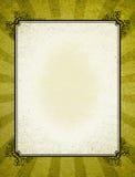 Frame velho decorativo da forma Foto de Stock Royalty Free