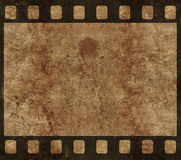 Frame velho do negativo de película - fundo de Grunge Fotografia de Stock