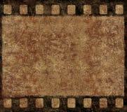 Frame velho do negativo de película - fundo de Grunge Foto de Stock Royalty Free