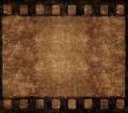 Frame velho do negativo de película - fundo de Grunge Fotos de Stock Royalty Free