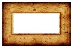 Frame velho do sumário da forma Fotografia de Stock