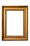 Frame velho dourado retro (No#9) Fotografia de Stock Royalty Free