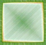 Frame verde abstrato Fotos de Stock Royalty Free