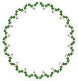 Frame verde do Natal Foto de Stock