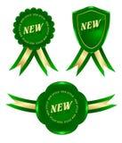 Frame verde novo Ilustração Stock