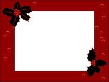 Frame vermelho Fotos de Stock Royalty Free