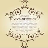 Frame-vetor floral do vetor Imagem de Stock Royalty Free