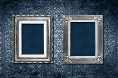 Frame victorian wallpaper royalty free stock photo