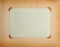 Frame in vintage album Royalty Free Stock Photos