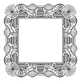 Frame vintage border decorative pattern  Stock Photography