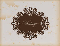 Frame vintage Royalty Free Stock Photo