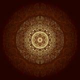 Frame with vintage floral patterns. Vector background Vector Illustration