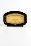 Frame vintage Soviet barometer. On a white background stock images