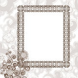 Frame in vintage style Royalty Free Stock Photos