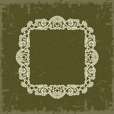 Frame in vintage style Royalty Free Stock Images