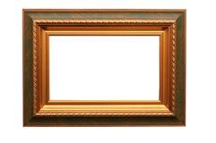 Kader voor beeld op wit stock foto's
