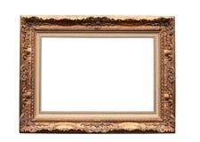 Frame voor beeld op wit royalty-vrije stock afbeelding