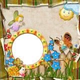 Frame voor een foto Royalty-vrije Stock Foto's