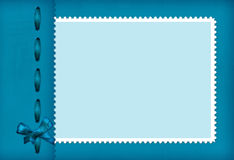 Frame voor een foto met boog Royalty-vrije Stock Foto