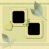 Frame voor foto Royalty-vrije Stock Afbeeldingen