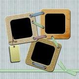 Frame voor foto Stock Afbeelding