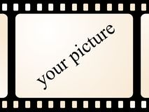 Frame voor foto Stock Illustratie