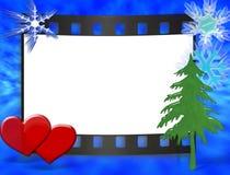 Frame voor huwelijk, verjaardag, cristmas stock illustratie