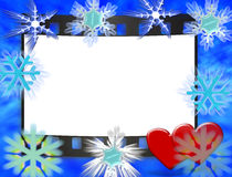 Frame voor huwelijk, verjaardag, cristmas Royalty-vrije Stock Foto's
