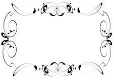 Frame voor uw ontwerp Stock Foto