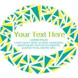Frame voor uw tekst Stock Afbeeldingen